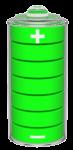 batterie chargée