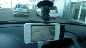 inclinaison horizontale support smartphone fix2car